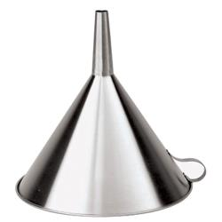 World Cuisine - 42562-20 - 7 7/8 in Stainless Steel Funnel image