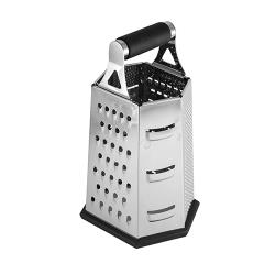 Tablecraft - SG204BH - 6-Sided Stainless Steel Box Grater image
