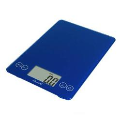 Escali Scales - 157EB - 15 Lb Electric Blue Arti Glass Digital Scale image