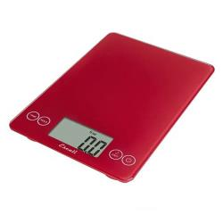 Escali Scales - SCDG15RDR - 15 lb Red Arti Glass Digital Scale image