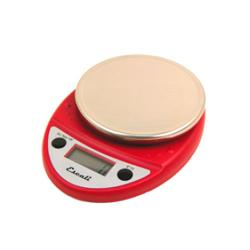 Escali Scales - P115PL-WR - 11 lb Warm Red Primo Digital Scale image