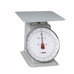 Winco - SCAL-820 - 20 lb x 1 oz Mechanical Scale image