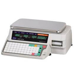 Globe - GSP30A - 30 lb x .01 lb Label Printing Scale image