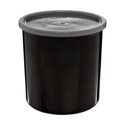 Cambro - CP15110 - 1 1/2 qt Black Crock with Lid image