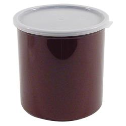 Cambro - CP27195 - 2.7 qt Brown Crock with Lid image