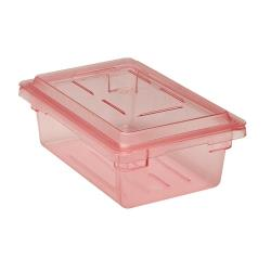 Cambro - 12186CW467 - 12 in x 18 in x 6 in Red Camwear® Food Box image