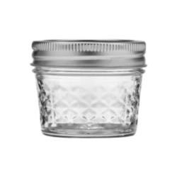 Ball - 1440080400 - 4 oz Quilted Mason Jar image