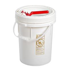 M&M Industries - 5 gal Life Latch® Pail and Cover image