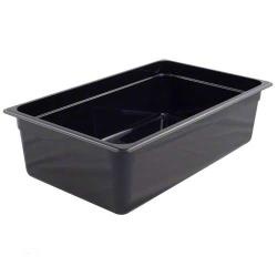 Cambro - 16CW110 - Full Size 6 in Deep Black Camwear® Food Pan image