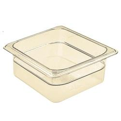 Cambro - 62HP150 - 1/6 Size H-Pan™ 2 1/2 in Deep Food Pan image