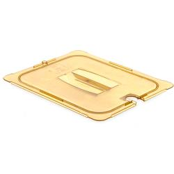 Carlisle - 10431U13 - 1/2 Size Amber StorPlus™ Food Pan Cover image