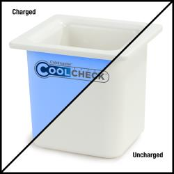 Carlisle - CM1105C1402 - 1/6 Size High Capacity Coldmaster® CoolCheck Food Pan image