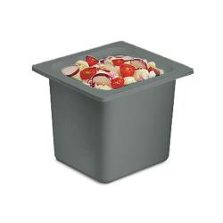 San Jamar - CI7001BK - Chil-It™ Sixth Size 6 in Deep Black Food Pan image