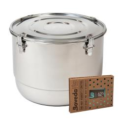 FreshStor - 21LTR - 21 L Cvault Stainless Steel Container image