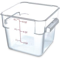 Carlisle - 1072207 - 6 qt StorPlus™ Food Storage Container image
