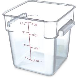 Carlisle - 1072307 - 8 qt StorPlus™ Food Storage Container image