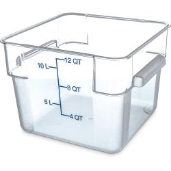 Carlisle - 1072407 - 12 qt StorPlus™ Food Storage Container image