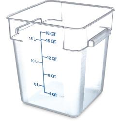 Carlisle - 1072507 - 18 qt StorPlus™ Food Storage Container image