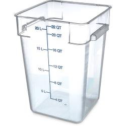 Carlisle - 1072607 - 22 qt StorPlus™ Food Storage Container image