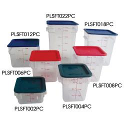 Thunder Group - PLSFT018PC - 18 qt Food Storage Container  image