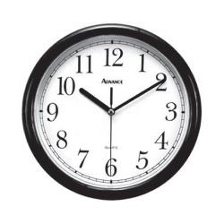 Royal Industries - CLOCK BLK - 10 in Wall Clock image