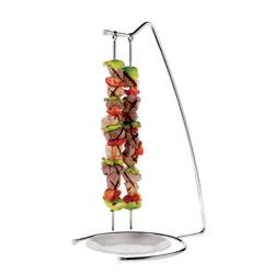 World Cuisine - 42417-22 - 4-Skewer Stainless Steel Stand Set image