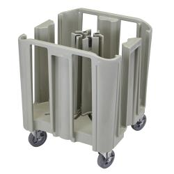 Cambro - ADCSC480 - 12 in S-Series Gray Adjustable Dish Caddy image