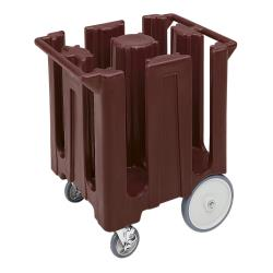 Cambro - DC1225131 - 12 1/4 in Plate Brown Poker Chip Dish Caddy image