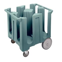 Cambro - DC1225401 - 12 1/4 in Plate Blue Poker Chip Dish Caddy image