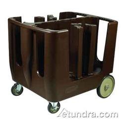 Winco - DCA-6 - 4 1/2 in - 13 in Brown Dish Caddy image