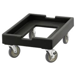 Cambro - CD1826PDB110 - 18 in X 26 in Black Camdolly® Dough Box Dolly image