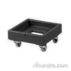 Cambro - CD1313 - Camdolly 13 in X 13 in Black Milk Crate Dolly   image