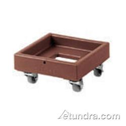 Cambro - CD1313 - Camdolly 13 in X 13 in Brown Milk Crate Dolly  image