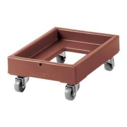 Cambro - CD1420131 - Camdolly® 14 in X 19 in Brown #10 Can Case Dolly image