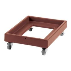 Cambro - CD2028131 - Camdolly® 20 in X 28 in Brown #10 Can Case Dolly image
