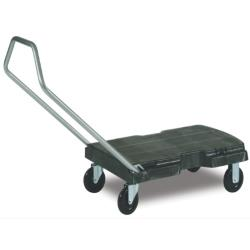 Rubbermaid - FG440100BLA - 32 1/2 in x 20 1/2 in Triple Standard Trolley image