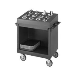 Cambro - CR12110 - 33 in X 23 in Black Cutlery Rack image
