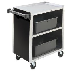 Vollrath - 97181 - 30 7/8 in x 17 3/4 in Black Service Cart image