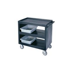 Cambro - BC235 - 37 1/4 in X 21 1/2 in Black Service Cart  image