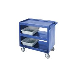 Cambro - BC235 - 37 1/4 in X 21 1/2 in Blue Service Cart  image