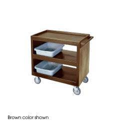 Cambro - BC235157 - 37 1/4 in X 21 1/2 in Beige Service Cart image