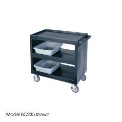 Cambro - BC2354S110 - 37 1/4 in X 21 1/2 in Black Service Cart image