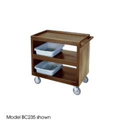 Cambro - BC2354S131 - 37 1/4 in X 21 1/2 in Brown Service Cart image