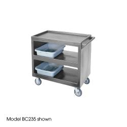 Cambro - BC2354S180 - 37 1/4 in X 21 1/2 in Gray Service Cart image