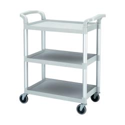 Cambro - BC331KD - 32 7/8 in X 16 1/4 in Speckled Gray Service Cart image