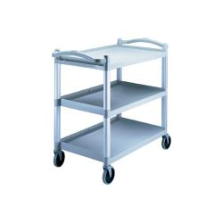 Cambro - BC340KD480 - 40 in X 21 1/4 in Speckled Gray Utility Cart image