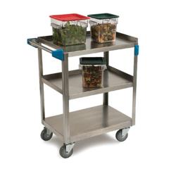 Carlisle - UC7032133 - 35 3/4 in (L) x 21 in (W) Stainless Steel Utility Cart image