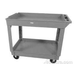 Continental Commercial - 5800GY - 400 lb Gray Raised Ledge Utility Cart image