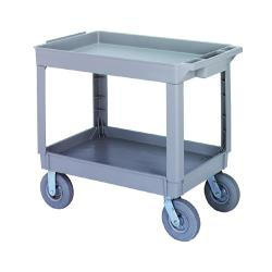 Continental Mfg. - 5805GY - 36 in x 24 in Gray Utility Cart image