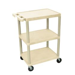 Luxor - HE-34-P - 24 in x 18 in Putty Utility Cart image